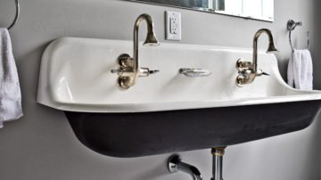 bathroom remodel - double sink