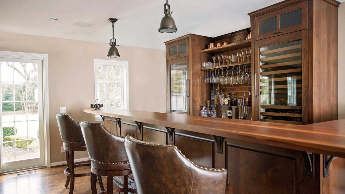 kitchen remodel - bar