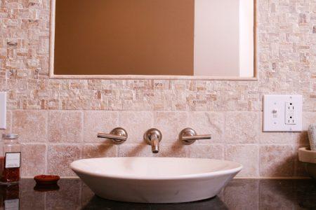 bathroom renovations - sculptural elements