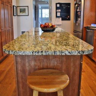 Countertop kitchen remodel