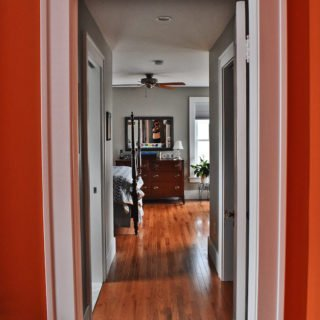 Hallway home remodel