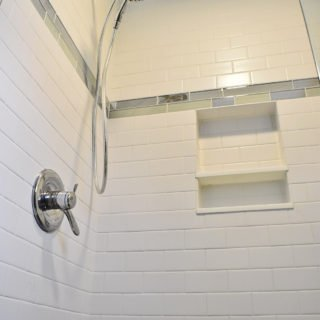 Anzelloti Bathroom shower Renovation